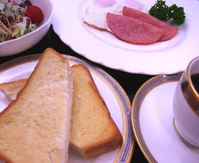 洋食(朝食メニュー)